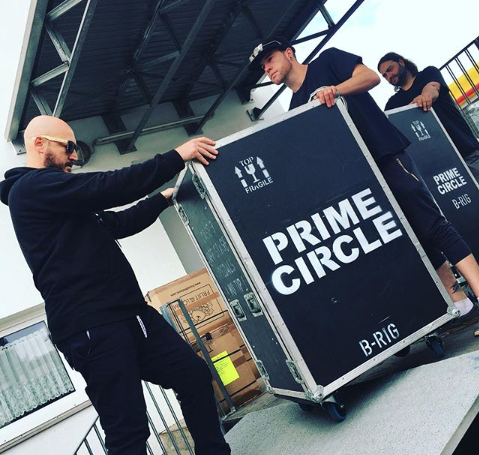 Photo of Prime Circle takes 'pretty like the sun' on the road