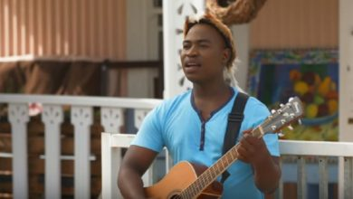 """Photo of Refentse Morake – says, """"Afrikaans music is descriptive and effortless to create""""."""