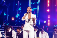 Photo of Watch! Miss Lira's Spectacular Performance On Stage With her Winning Team