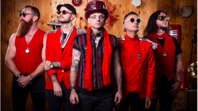 "Photo of The Parlotones release cinematic music video for   ""Antidote"" single"