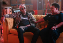 Photo of Tellaman Working In Studio With Dr Rebecca Malope For New Sound Track