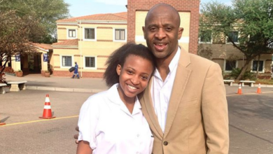 Photo of Owamie Wishes Father Arthur Mafokate A Speedy Recovery