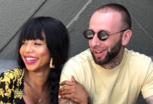 Photo of Kelly Khumalo Covers Up Tattoo Initials Linked To Chad Da Don