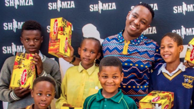 """Photo of Watch! DJ Shimza's Charity Foundation """"Shoes Of Hope"""" Impacts The Community"""