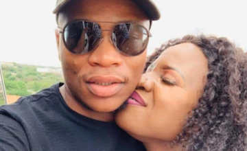 Photo of Master KG Sends Girlfriend Makhadzi A Public Romantic Massage And Fans React: