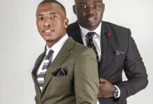 Photo of Pics! Dumi Mkokstad and Thinah Zungu Dress Like Soldiers As #21daylockdownSA Officially Begins