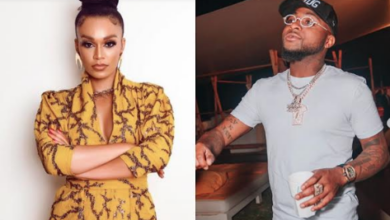 """Photo of Davido Commends The New Series """"Queen Sono"""" Starring Pearl Thusi"""