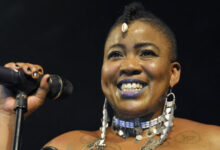 Photo of Pic! Thandiswa Mazwai Reacts To DJ Fresh Celebrating Her Birthday With A ThrowBack ⁦ @thandiswamazwai @DJFreshSA