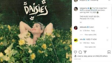 Photo of Katy Perry Announces New Single  'Daisies' Coming May 15th