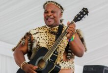 Photo of Maskandi Artist Thokozani Langa and Victor Mkhize Bring Hope To A Community