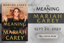 Photo of Mariah Carey's Memoir Is Available For Pre-Order Now