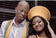 Photo of Mampintsha Proposes To Girlfriend Babes Wodumo Live On Air