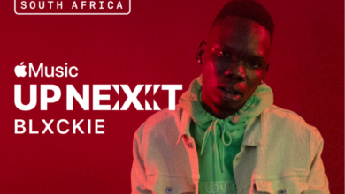Photo of Blxckie Announced As Apple Music  Up Next Artist In South Africa