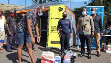 Photo of Ladysmith Black Mambazo Provides Relief For Backing Artists