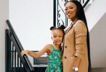 Photo of Pics! DJ Zinhle And AKA Celebrate Daughter Kairo's 6th Birthday