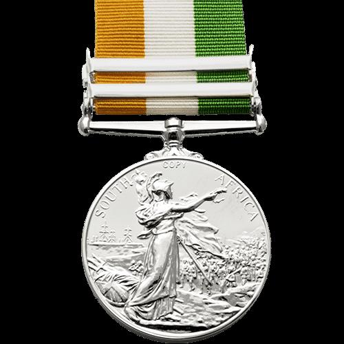Kings South Africa Medal KSA Reverse