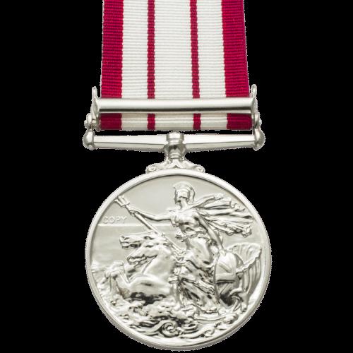 Naval General Service Medal NGSM 1915-1962 Reverse