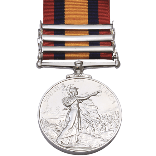 Queens South Africa Medal QSA reverse
