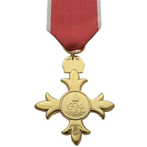 Officer of the British Empire OBE Civilian Reverse