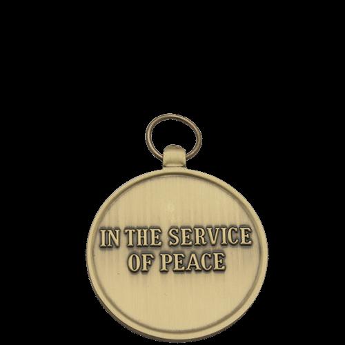 UN Medal Reverse