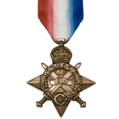1914 Star World War 1 Medal