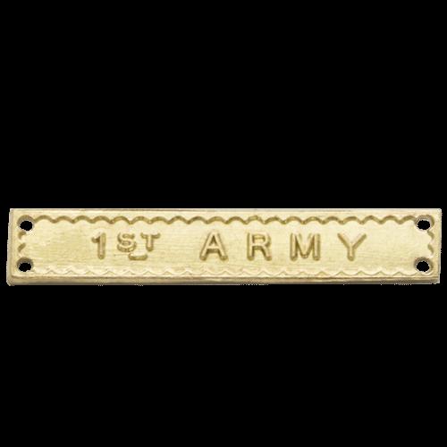 1st Army Clasp World War 2