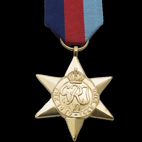 39-45 Star World War 2 Medal