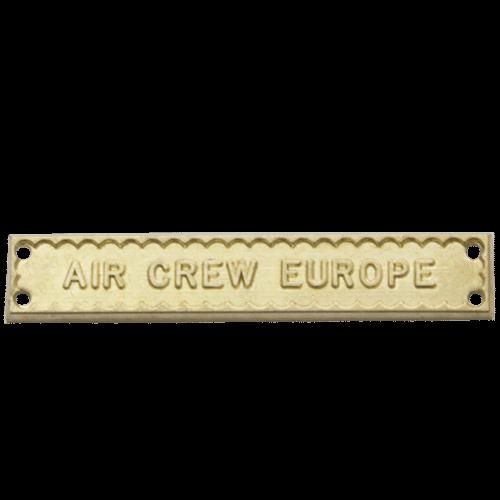 Air Crew Europe Clasp World War 2
