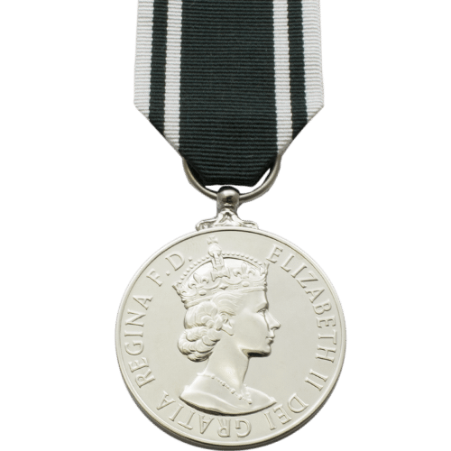 Ambulance Long Service and Good Conduct Medal ER2