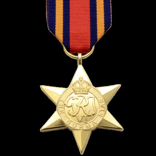 Burma Star World War 2 Medal