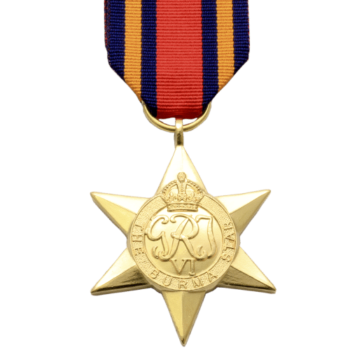 Burma Star World War 2 Medal