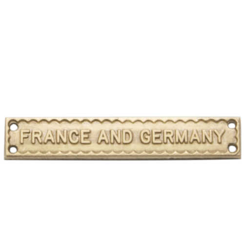 France And Germany Clasp World War 2