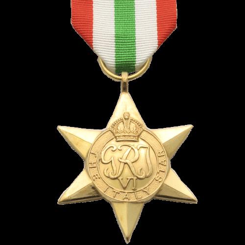 Italy Star World War 2 Medal
