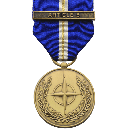 NATO ARTICLE 5 Eagle Assist Medal