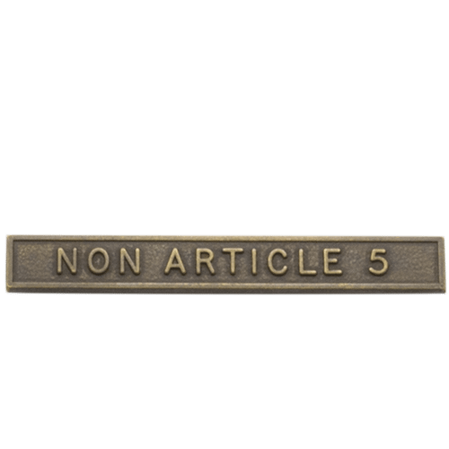 NATO NON ARTICLE 5 CLASP