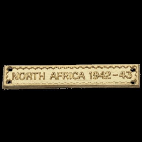 North Africa 1942-43 Clasp World War 2