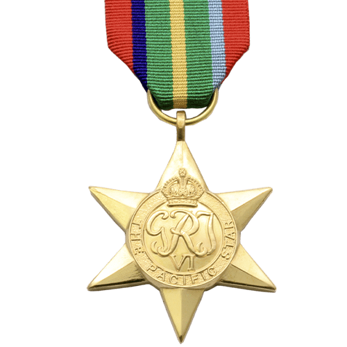 Pacific Star World War 2 Medal