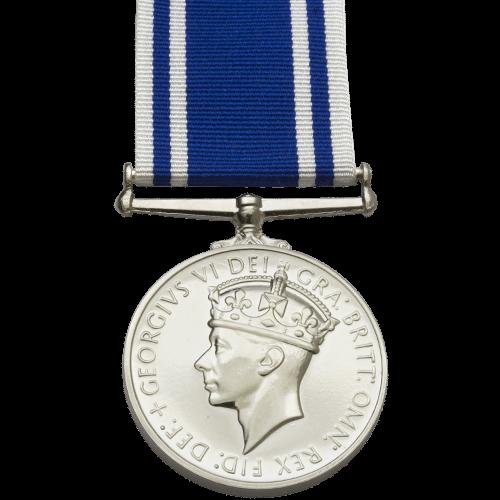 Police LS&GC Medal GVI