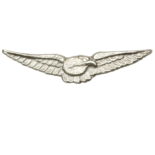 Queens Commendation For Bravery In The Air Medal Emblem