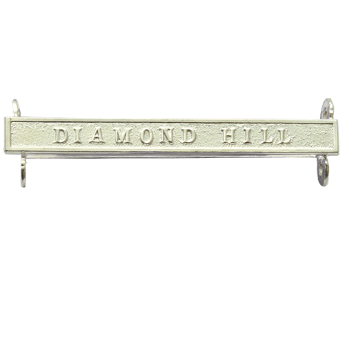 Queens South Africa QSA Clasp DIAMOND HILL