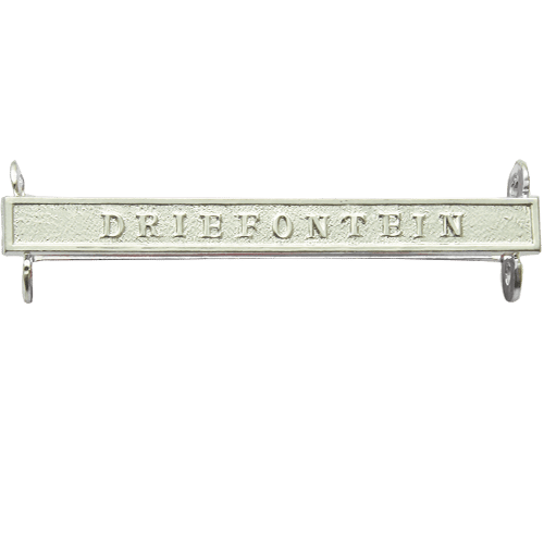 Queens South Africa QSA Clasp DRIEFONTEIN