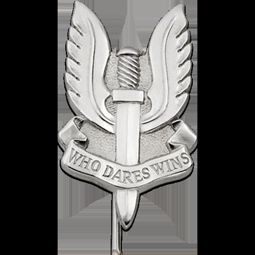 SAS Tie Pin Close Up