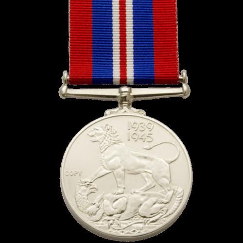 War Medal 1939-45 World War 2 Reverse
