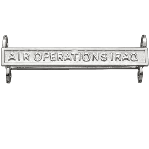 Air Operations Iraq Clasp General Service Medal
