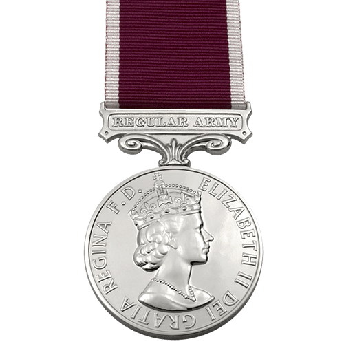 Army Long Service And Good Conduct LSGC Medal EIIR