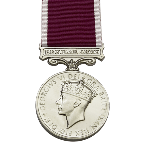 Army Long Service And Good Conduct LSGC Medal GVI