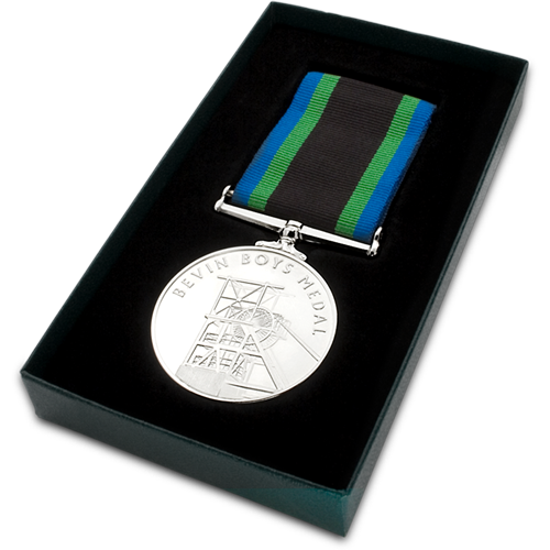 Bevin Boys Medal Commemorative Boxed