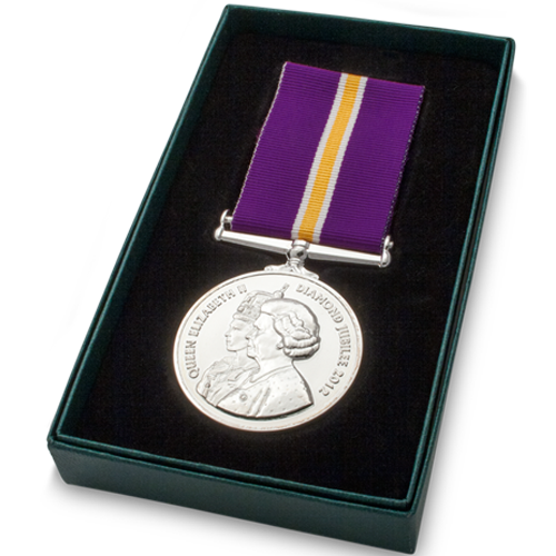 Diamond Jubilee Medal Commemorative Boxed