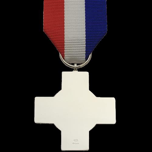 General Service Cross Commemorative Medal Reverse
