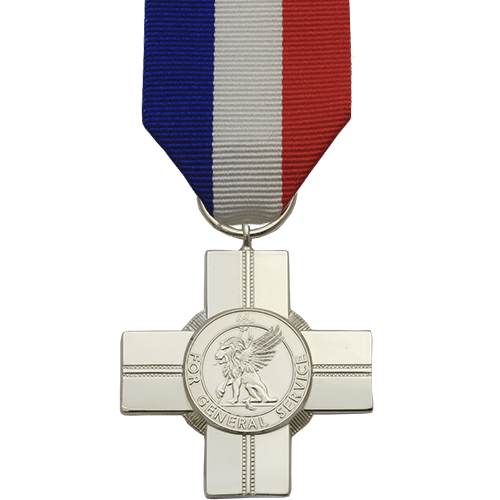General Service Cross Commemorative Medal